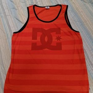 DC Shoes orange athletic tank top. Sz XL